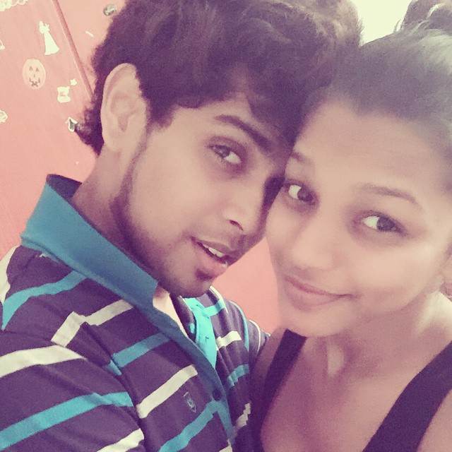 Kavindya Adikari and Her Boyfriend