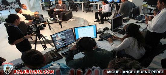 Alberto Acosta arranca con la ronda de entrevistas con los binomios presidenciales | Rosarienses, Villa del Rosario