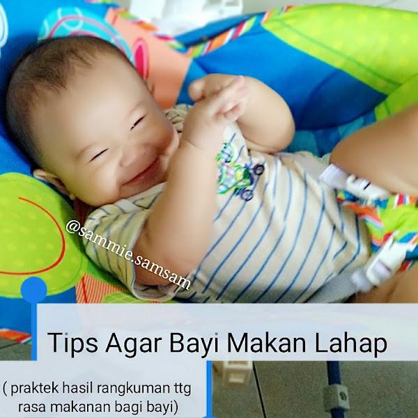 Tips Agar Bayi Makan Lahap