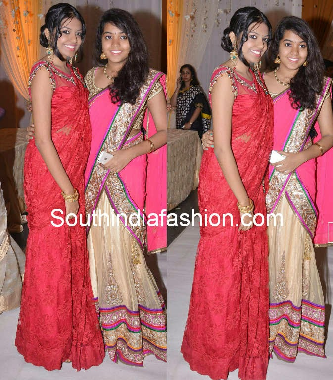Jeevitha Rajasekhar Daughters In Party Wear Outfits