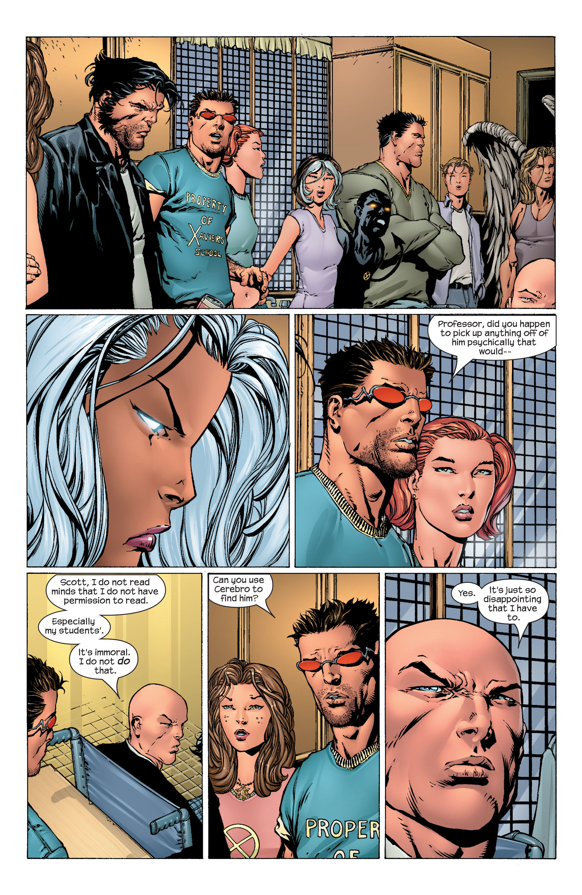 Read online Ultimate X-Men comic -  Issue #43 - 4