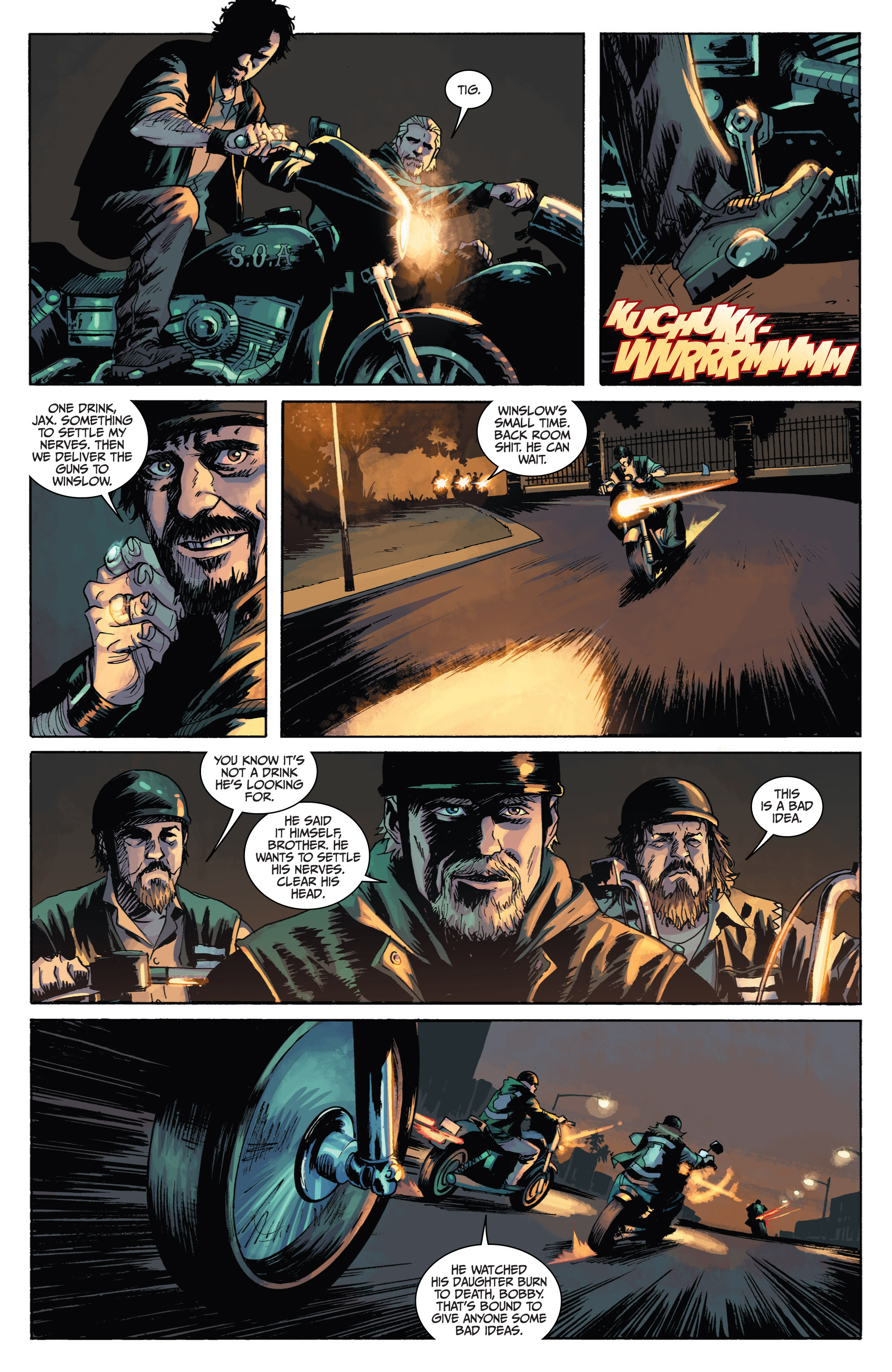 Read online Sons of Anarchy comic -  Issue #1 - 8