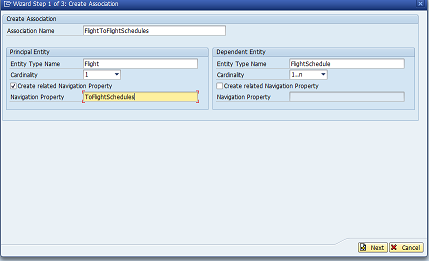 how to implement Association/Navigation in SAP OData service? - SAP