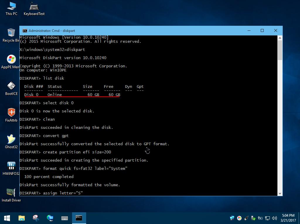 Kết nối usb vào máy ảo, copy bộ cài vào phân vùng lưu trữ