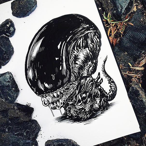 alien%2Bcartoon