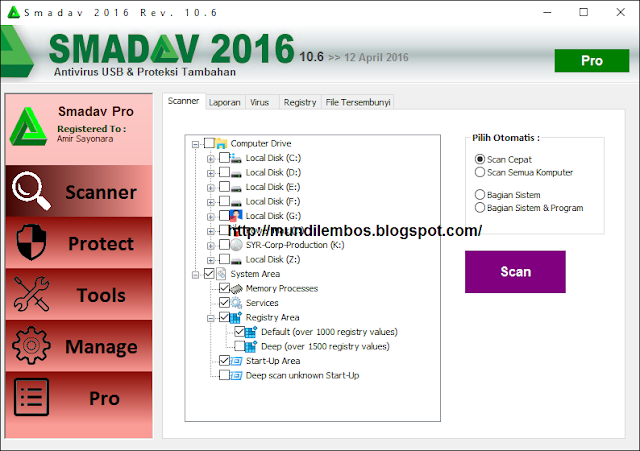 Smadav Pro 2016 Rev 10.6 Full Version