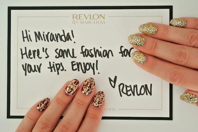 ec48d19b5c Revlon has begun a beauty-fashion revolution, and it starts at our  fingertips! From gold brocades, intricate designs, and colorful rosette  motifs, ...