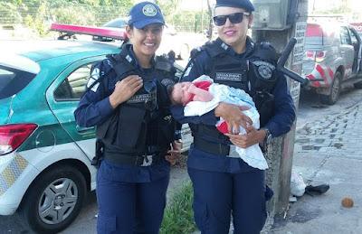 Recém-nascido é raptado de hospital e localizado horas depois pela Guarda Municipal de Fortaleza (CE)