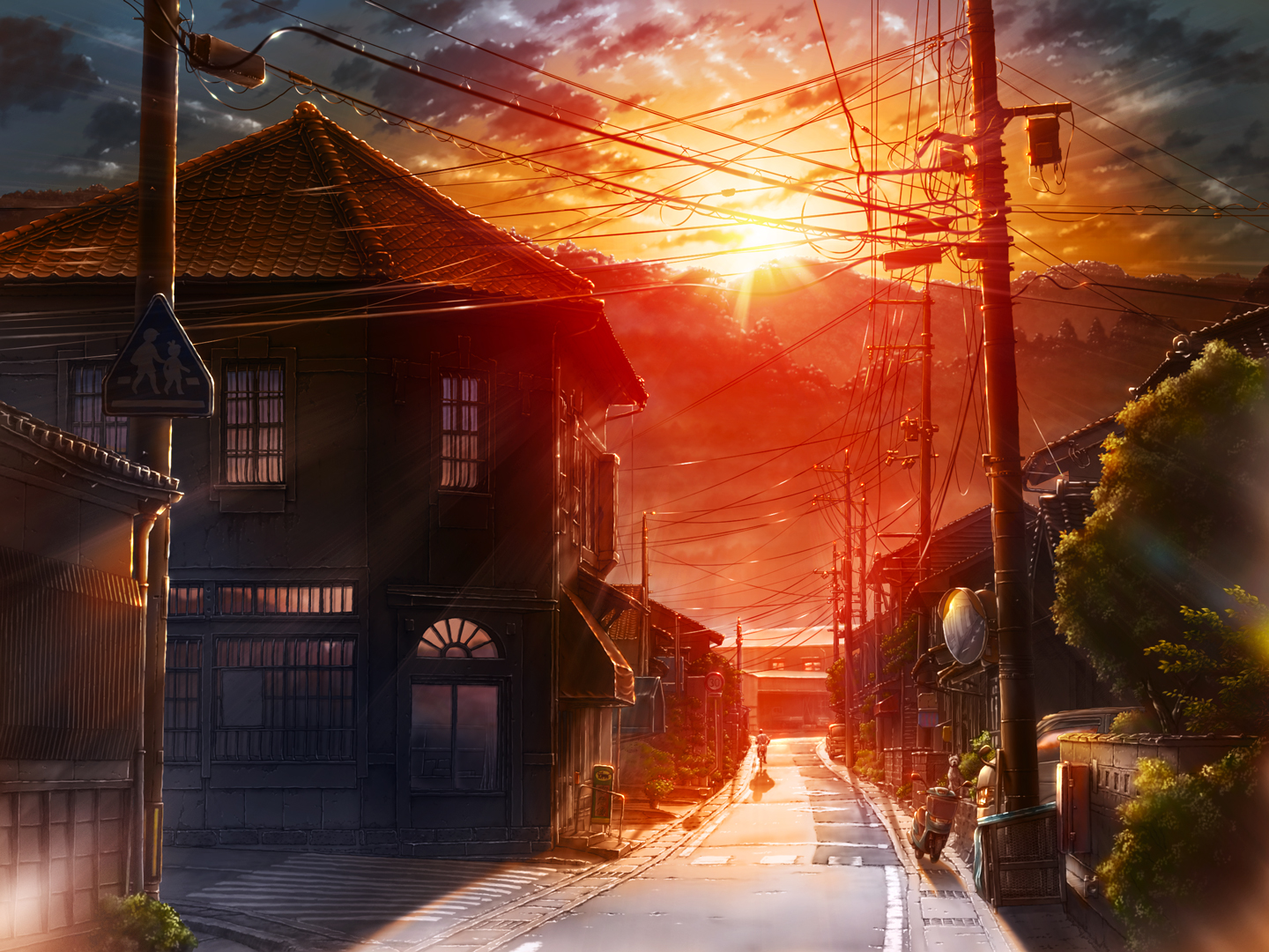 House (Anime Background)