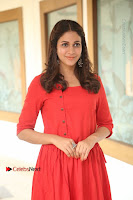 Actress Lavanya Tripathi Latest Pos in Red Dress at Radha Movie Success Meet .COM 0105.JPG