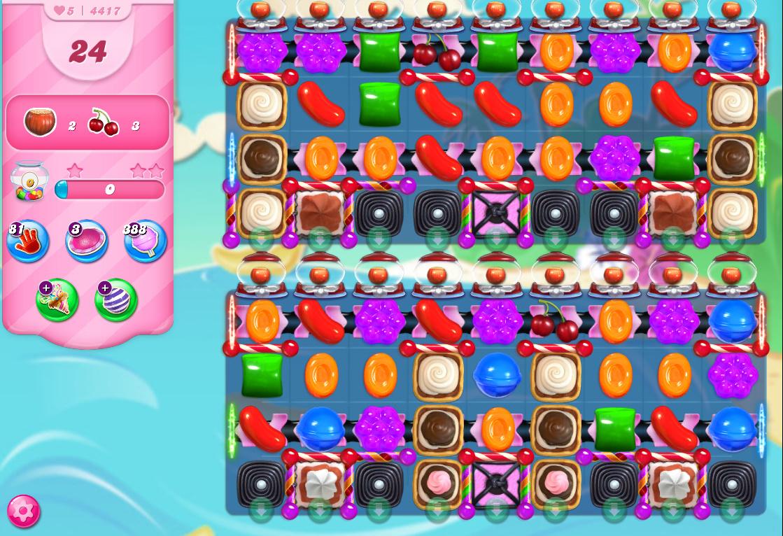Candy Crush Saga level 4417