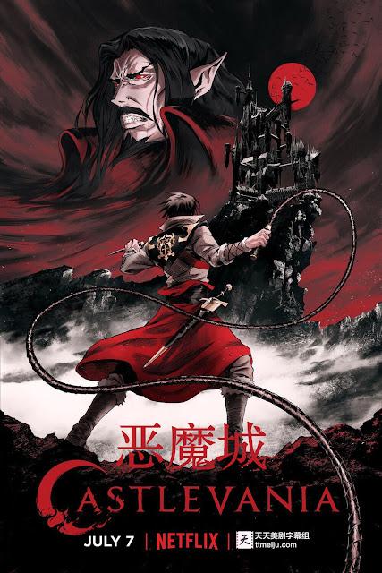 netflix castlevania series poster