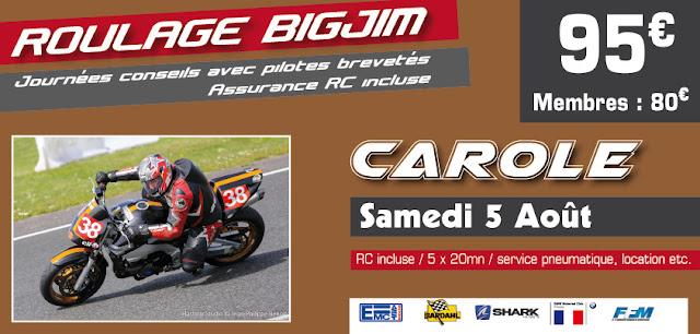 Roulage BigJim Carole 2017