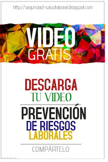Prevención de riesgos laborales video