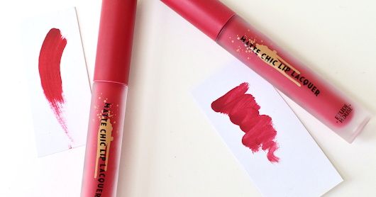 REVIEW // Etude House x Red Velvet Matte Chic Lip Lacquer | Wendy Brown + Ready for Red