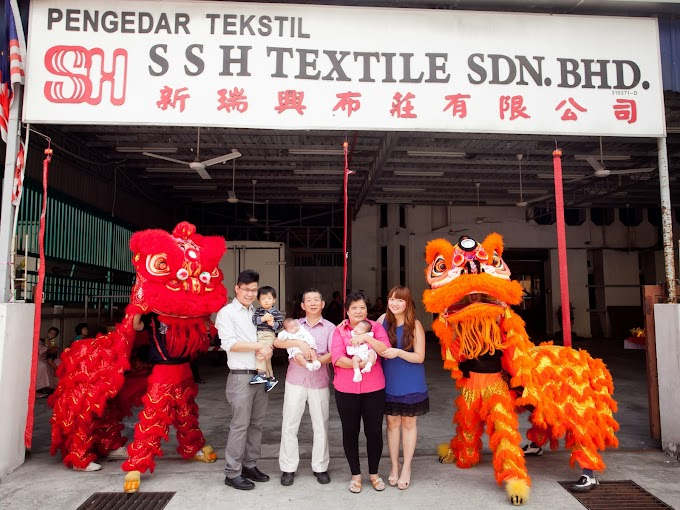 Chinese New Year Celebration Lion Dance in our Head Office 2014