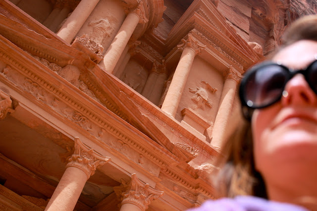 Feeling overwhelmed in Petra - foto di Elisa Chisana Hoshi