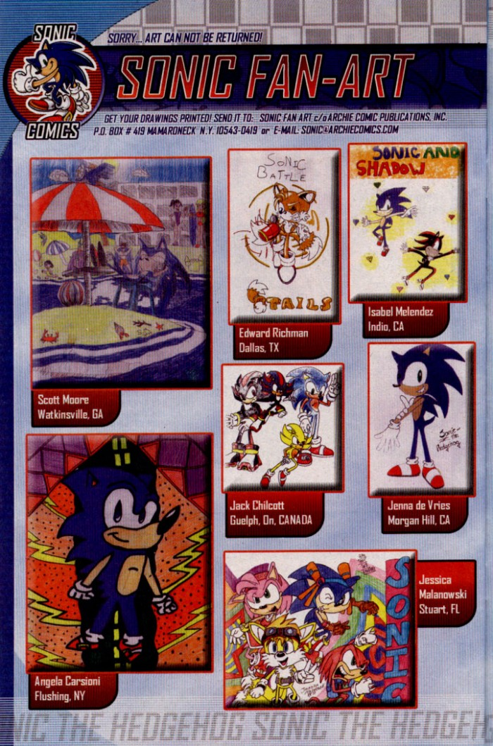 Read online Sonic The Hedgehog comic -  Issue #144 - 24
