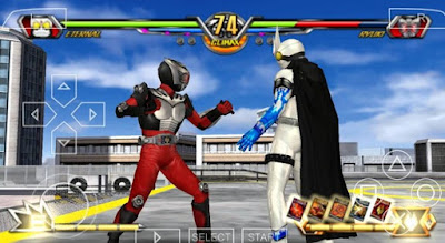Download Kamen Rider Chou Climax Heroes PPSSPP High Compress