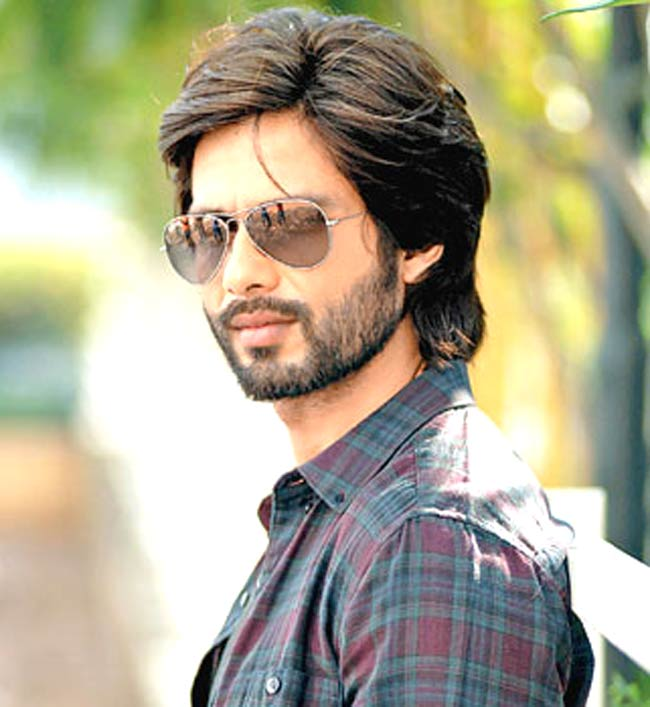 All About Hair For Men Shahid Kapoor