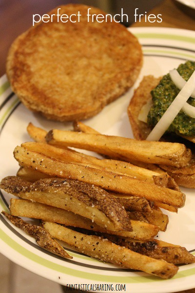 Perfect French Fries #recipe #fries #potato #sidedish