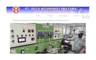 Lowongan Operator Produksi Tangerang PT. DUTA NICHIRINDO PRATAMA (DNP)