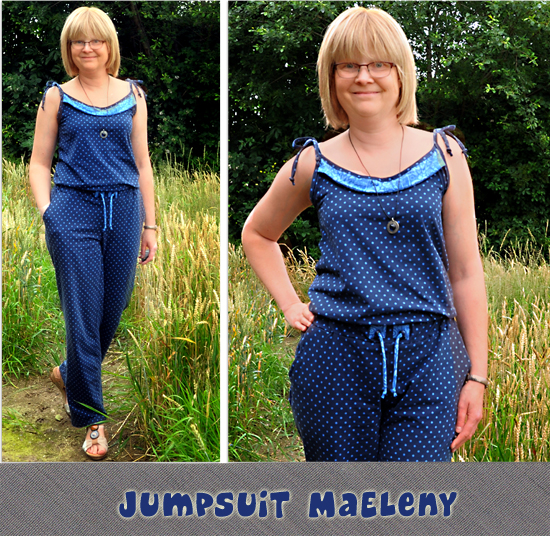 Jumpsuit MaEleny by Kibadoo