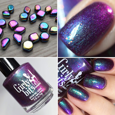 girly bits law of attraction swatches for polish pickup january 2018