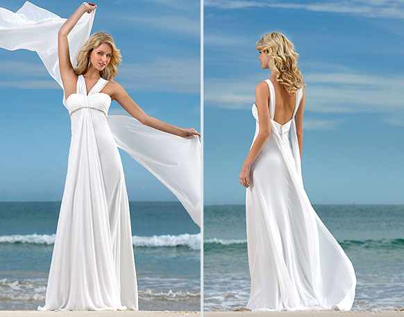 Dream Wedding Place: Beach Wedding Dress Styles
