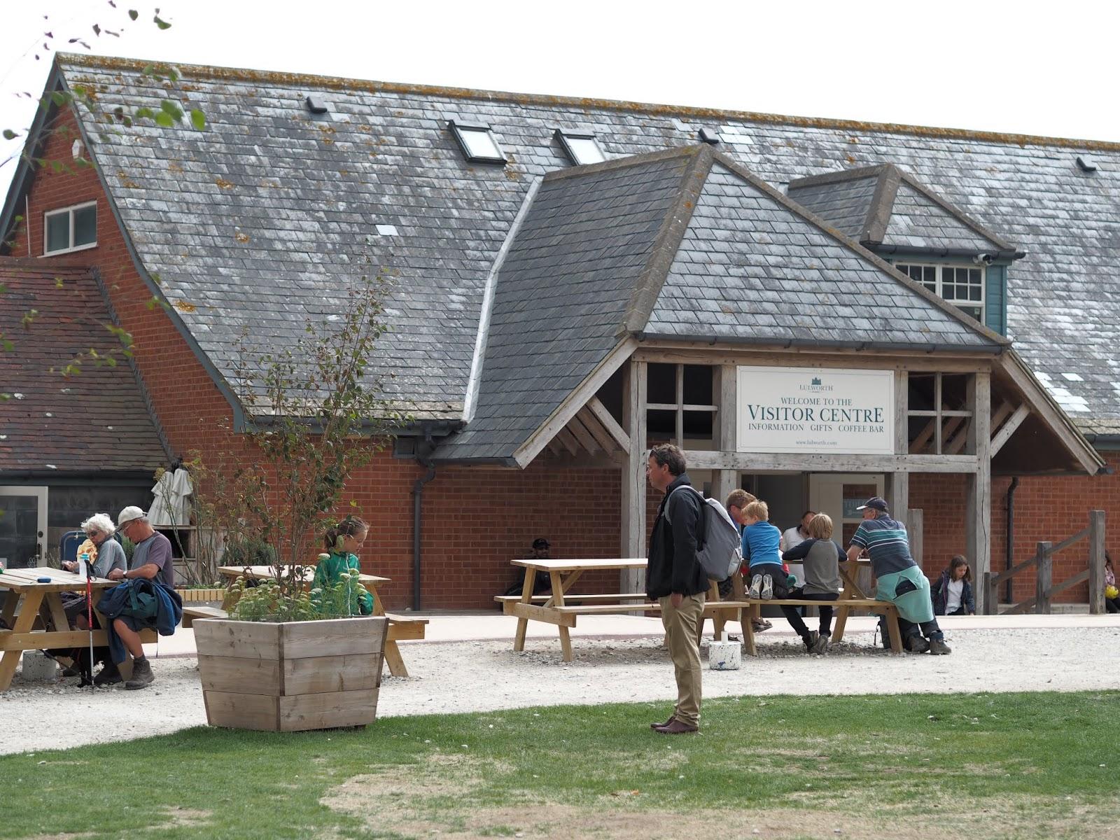 Lulworth Cove \ visitors information centre \ cafe \ shops
