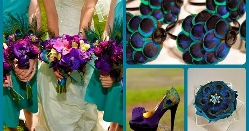 Memorable Wedding: Peacock Wedding Theme: How To Make It Work