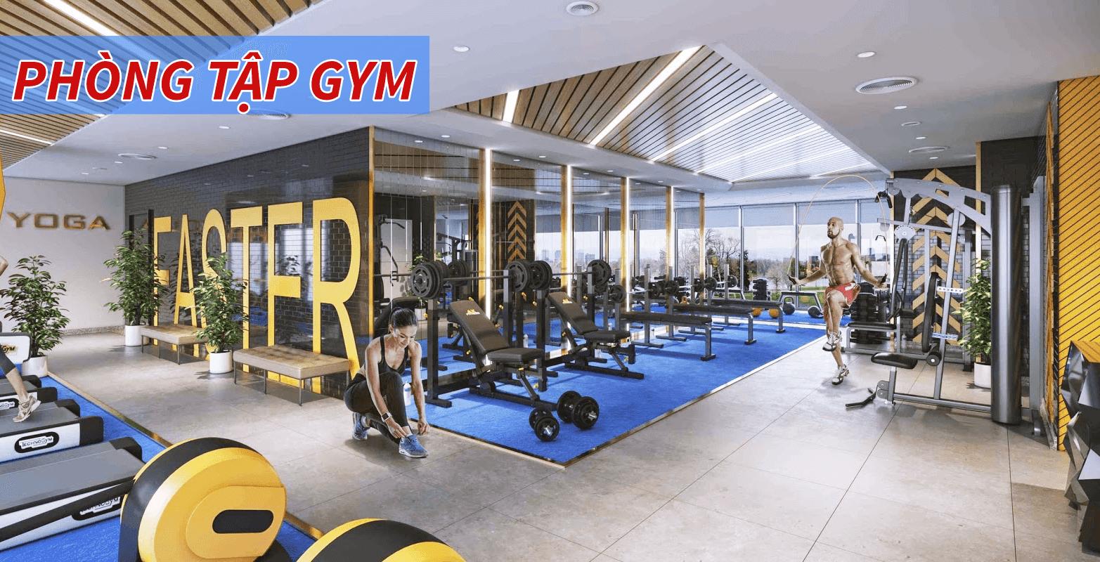 Phòng tập Gym của dự án Xuân Mai Rose Town