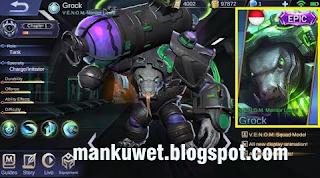 Script Semua Skin Grock Venom Terbaru Mobile Legend