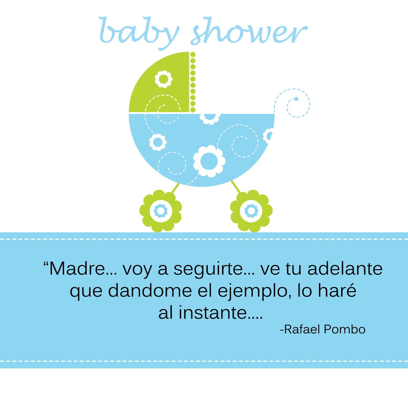 Gracias Por Haber Venido A Mi Baby Shower
