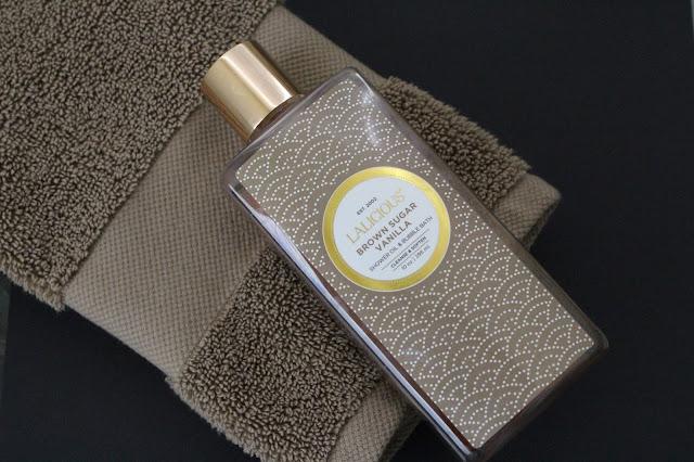Lalicious Brown Sugar Vanilla Shower Oil & Bubble Bath Review