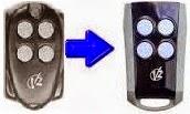 Control remoto italiano fabricado por Vidue