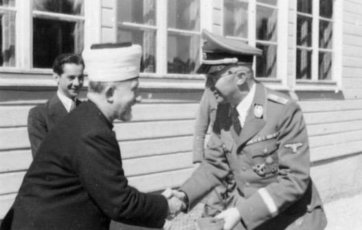 Mufti Besar Palestin Berkawan Dengan Adolf Hitler