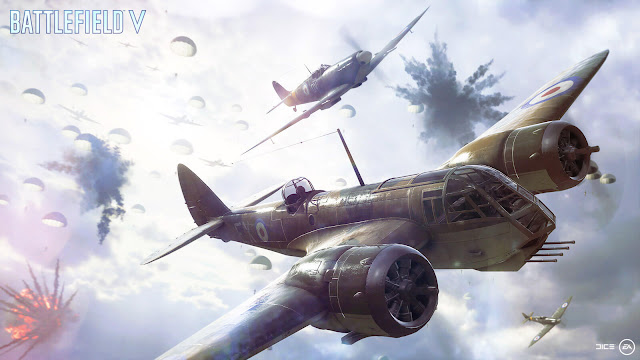 battlefield v multiplayer airborne gameplay