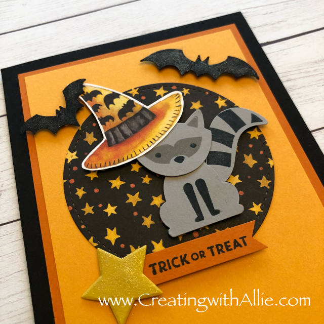 Check out the video tutorial showing you how to make a cute halloween card, where I show you tips and tricks for designing cards using Stampin Up's Toil and Trouble DSP!  You'll love how quick and easy this is to make!  www.creatingwithallie.com #stampinup #alejandragomez #creatingwithallie #videotutorial #cardmaking #papercrafts #handmadegreetingcards #fun #creativity #makeacard #sendacard #stampingisfun #sharewhatyoulove #handmadecards #friendshipcards #Halloweencards