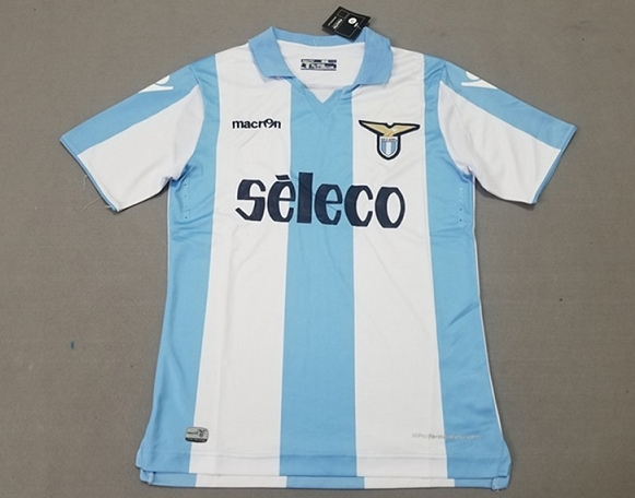 Jersey Lazio Home Away 2017-2018 Biru Langit Putih