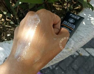 paw paw teksture