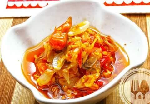 Resep sambal bawang teri