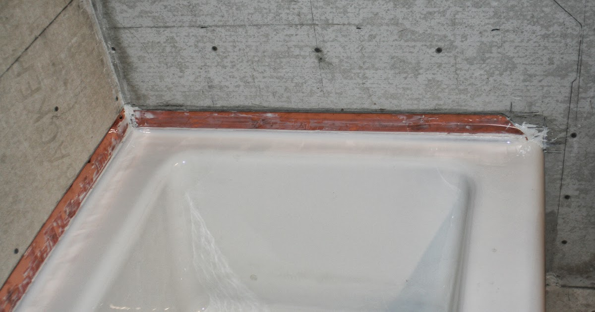 Energy Conservation How To Insulate Exterior Wall Of A Bathtub Or Shower