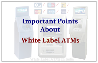 Important Points about White Label ATMs