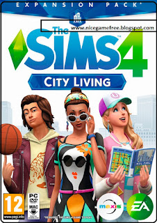 The Sims 4: City Living PC Game With DLC Free Download