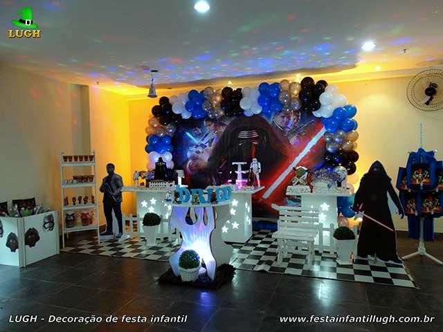 Decoração Star Wars para festa de aniversário infantil masculina - Barra-RJ