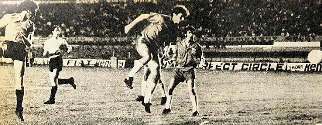 Uruguay y Chile en Copa Juan Pinto Durán 1971, partido de ida