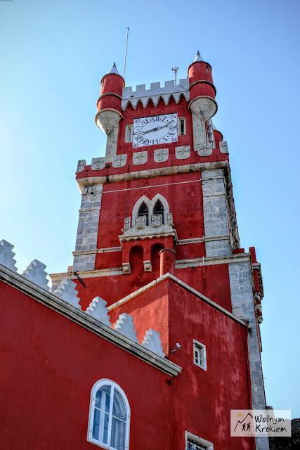 Pałac Pena w Sintrze - red tower