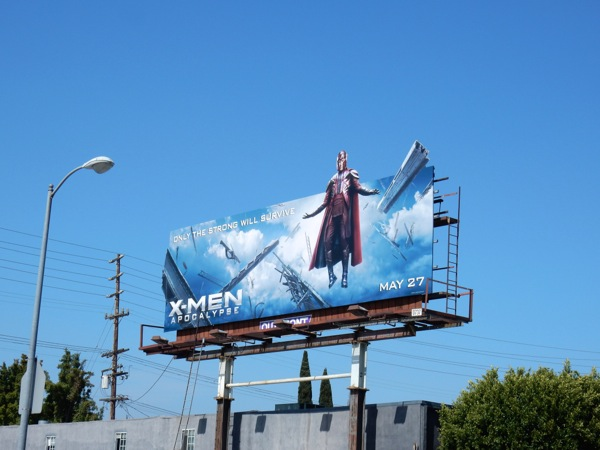XMen Apocalypse movie billboard