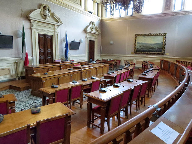 City Council Chamber, Town Hall, Livorno